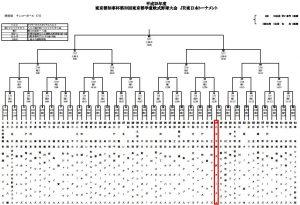 東京都知事杯争奪第39回東京都学童軟式野球大会トーナメント表
